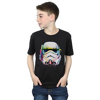 Star Wars Boys Stormtrooper Command Art T-Shirt