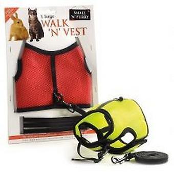 Sharples Small N Furry Walk N Vest N Leash