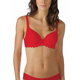 Mey 74808-410 Women's Allegra Ruby Red Solid Colour Underwired Full Cup Bra