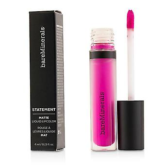 Bareminerals Statement Matte Liquid Lipcolor - # Shameless - 4ml/0.13oz