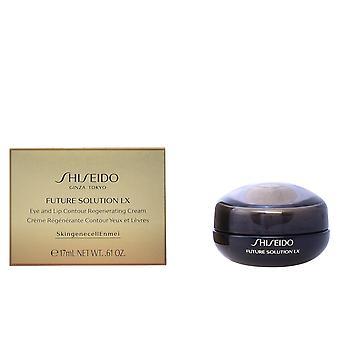 Shiseido Future lösning Lx ögat & Lip Cream 17 Ml för kvinnor