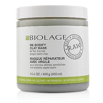 Matrix Biolage R.a.w. Re-bodify Clay Mask (for Flat Fine Hair) - 400ml/14.4oz
