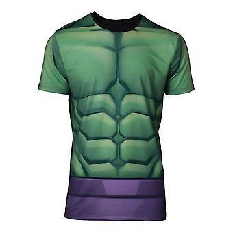 Mens Marvel Comics ongelooflijke Hulk sublimatie T-Shirt grote (TS668121MVL-L)