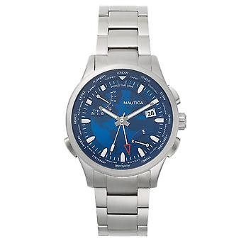 Nautica reloj NAPSHG003 reloj de acero inoxidable