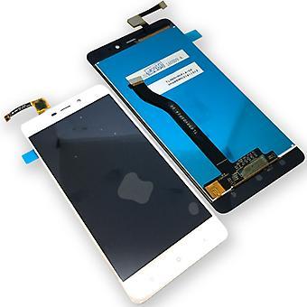 Xiaomi Redmi 4 Pro korjaus näytön koko LCD yksikkö touch valkoinen