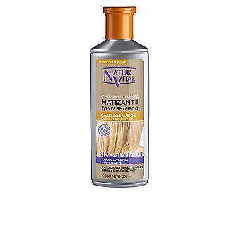 Naturaleza Y Vida Shampoo Matizante zilveren Blonde 300 Ml voor vrouwen