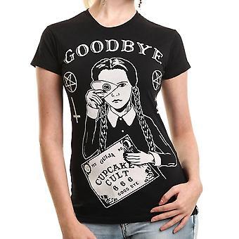 Cupcake Cult-kult onsdag-t-shirt-svart