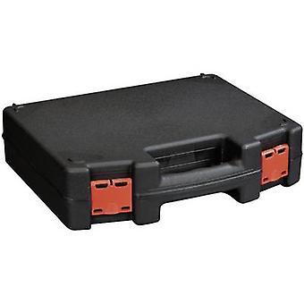 Alutec 56635 työkalu rasia (tyhjä) muovi musta, punainen