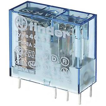 Finder 40.52.9.110.0000 PCB relay 110 V DC 8 A 2 change-overs 1 pc(s)