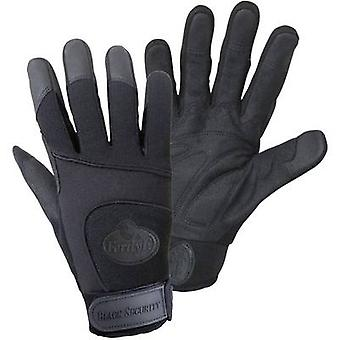 FerdyF. BLACK SECURITY Mechanics 1911 Clarino faux leather Work glove Size (gloves): 7, S EN 388 CAT II 1 Pair