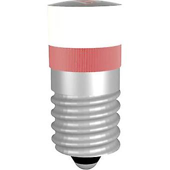 Signal konstruktion LED indikator lys E10 rød 12 V DC, 12 V AC MWCE22029