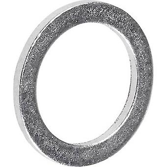 La TOOLCRAFT 893842 tenuta diametro interno anello: 8 mm DIN 7603 alluminio 100/PC
