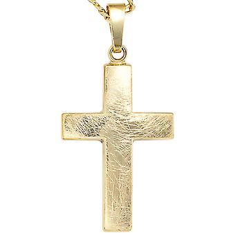 Anhänger 333/-G Kreuz Kreuzanhänger gold Anhänger Kreuz gold goldenes Kreuz