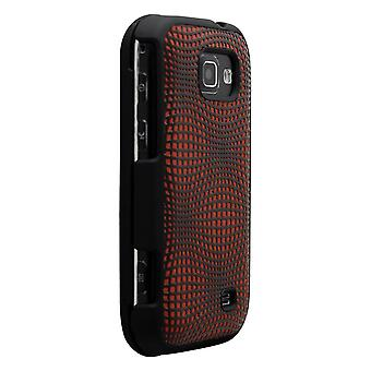 Technocel Snap-on Case Cover for Samsung M920 Transform (Chrome/Black) - SAM920SSPC-Z