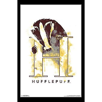 Harry Potter - Hufflepuff kuvitettu Juliste Tulosta