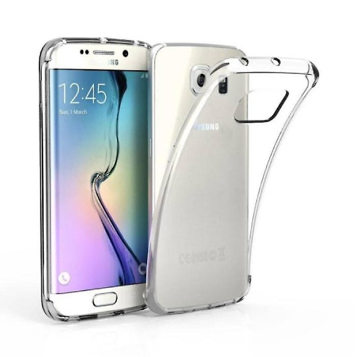 Stuff Certified ® 3-Pack Transparent Clear Silicone Case Cover TPU Case Samsung Galaxy S6 Edge