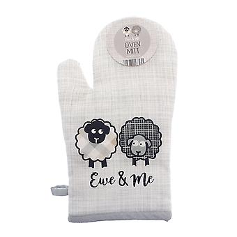 Country Club Ewe and Me Oven Mitt