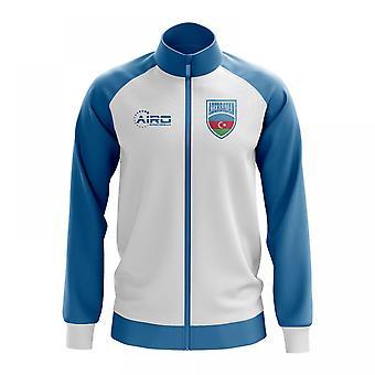 Azerbaidžan käsite jalkapallo Track Jacket (valkoinen)