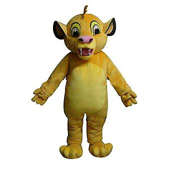 mascot SPOTSOUND of Simba, the famous young lion in the lion king