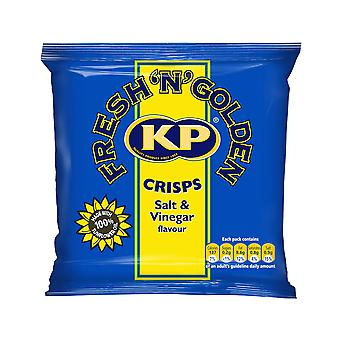 KP Salt and Vinegar Crisps