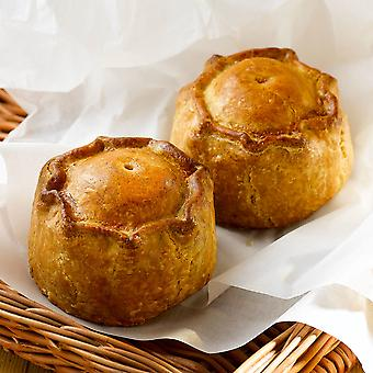 Wrights Frozen Small Unbaked Pork Pies