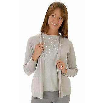 RABE Cardigan 39 022476 Grey