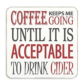 القهوة يبقى لي الذهاب حتى يكون مقبول