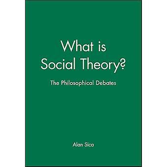 Was ist Social Theory? -Die philosophischen Debatten von Alan Sica - 9780