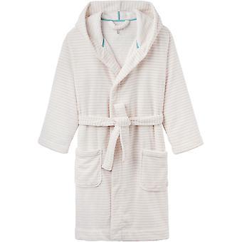 Joules Womens Rita gezellige zachte pluizig Fleece badjas