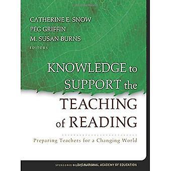 Conoscenza per sostenere l'insegnamento della lettura: preparazione degli insegnanti per un mondo che cambia