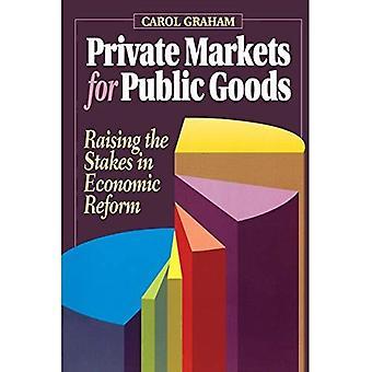 Privata marknader för kollektiva nyttigheter: att höja insatserna i ekonomiska reformer