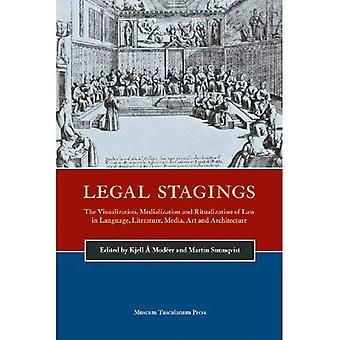 Prawne przemieszczania. Wizualizacja, Medialisation, Ritualisation: Nordic prawnych komunikacji poprzez język, literatura, Media, sztuka i architektura