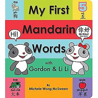 Mijn eerste woorden van de Mandarijn met Gordon & Li Li [Board boek]