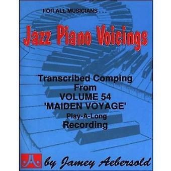 Getranscribeerd Jazz Piano begeleiding: Van Jamey Aebersold van Vol.54 eerste reis van Play-A-Long (Maiden Voyage)