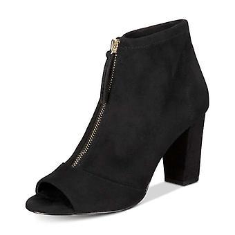 INC internationale begreber dame Kirsi Peep Toe ankel mode støvler