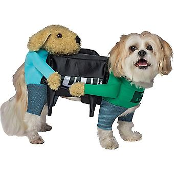 "Funny Dog kostuum met armen ""Piano"""