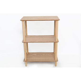 60x76cm 3 Tier wooden Shelf Unit for Decoration and Displays