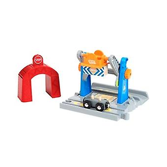 BRIO Smart Tech Lift and Load Crane 33827 Automated Extra for Wooden Railway Set