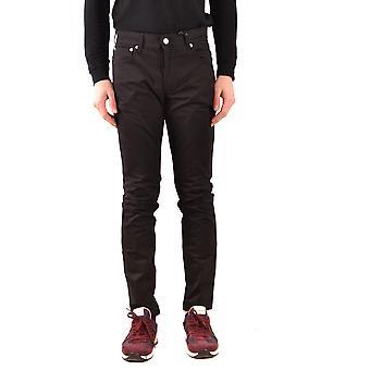 Moschino Ezbc015082 Men's Black Denim Jeans