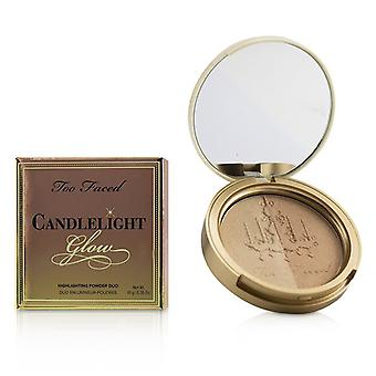 Too Faced Candlelight Glow Highlighting Powder Duo - # Warm Glow - 10g/0.35oz