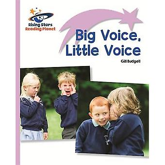 Reading Planet - Big Voice - Little Voice - Lilac - Lift-off by Gill B