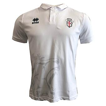 2018-2019 Pro Vercelli Errea Home Football Shirt