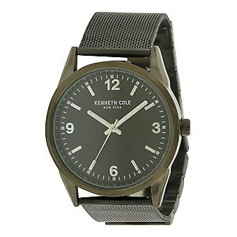 Kenneth Cole New York Black Stainless Steel Mens Watch 10030782