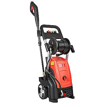 Electric Pressure Washer with Accessories - 2500W Patio Jet Cleaner Max. 200 Bar