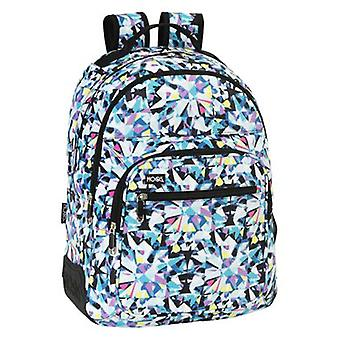 Safta Backpack Day Pack Double Adaptable to Car Moos Diamonds