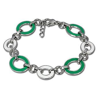 Amello - Women's bracelet - stainless steel and enamel - 180 mm - cod. VESAG01G