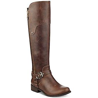 G by GUESS HARSON Tall Boots Wide Calf Dark Brown Size 5M