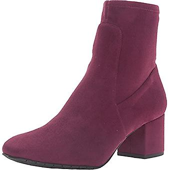 Kenneth Cole New York Womens Nikki Almond Toe Ankle Fashion Boots