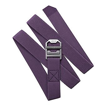 Arcade Guide Slim Webbing Belt in Wine
