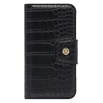 Marvêlle iPhone Xs Max Magnetic Case & Wallet Black Crocodile Trend